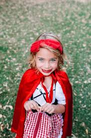 family costumes little red riding hood