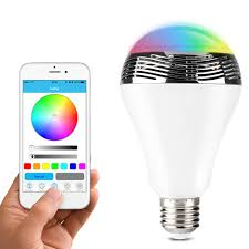 iphone controlled lighting. 1byone App Controlled Bluetooth 4.0 Speaker Multicolored LED Light Iphone Lighting