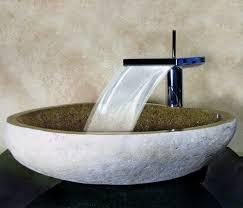 bathroom vessel sinks. yosemite home decor hand carved boulder vessel sink sand bowl for bathroom sinks