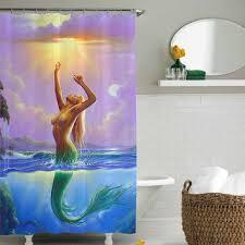 sexy shower curtain ideas. Fine Curtain Mermaid Sexy Shower Curtainshower Curtain Size 36x72 48x72 60x72 66x72 For Sexy Shower Curtain Ideas