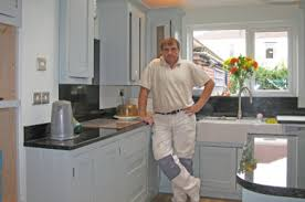 painted kitchensHand painted kitchen specialist  Neil Callender Decorating Hand
