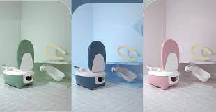 Toilet Mini Thông Minh Cho Bé - Home