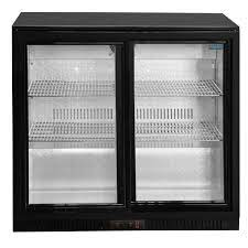 under counter glass fronted fridge hire