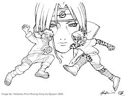 Naruto Coloring Pages Pdf With Best Of Fein Malbuch Galerienaruto 11