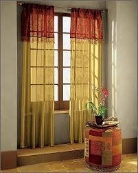 Yellow Curtains For Living Room Living Room Curtain Ideas Red And Yellow