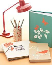 diy office supplies. Diy Office Supplies. 3 Stenciled Home Supplies E