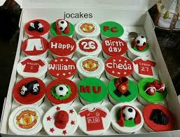 Manchester united birthday cakes images ~ Manchester united birthday cakes images ~ Manchester united birthday cupcakes for william and cheda. jocakes