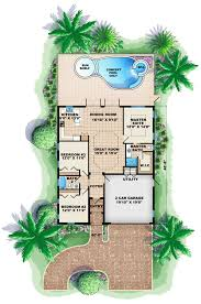 florida mediterranean house plan 60495 level one
