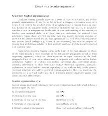 Sample Synthesis Essays An Example Of A Argumentative Essay An Example Of A Argumentative