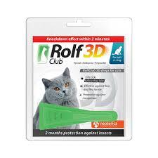 <b>Rolf Club 3D</b> Anti-Ticks and Fleas Drop 4 kg   Book pet services, get ...