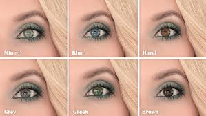 in my opinion it s perfect for green hazel and brown eyes it s nice for grey eyes while in case of blue eyes i d use plimentary blue toned shades