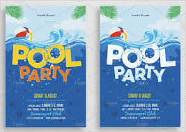 free printable blank pool party invitations. Simple Party Printable Pool Party Invitation Template And Free Blank Invitations