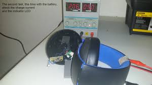 recharging stand for playstation gold wireless headset eleccelerator the circuit is made spare parts ered to a piece of protoboard here is a circuit diagram