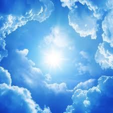 Resultado de imagen para cielo con luz dorada