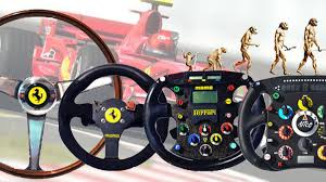 This wheel marks the second time that thrustmaster has made a replica of a ferrari f1 car's steering wheel, but unlike that largely decorative 2011 model, this unit is fully functional. Ferrari Formula One Steering Wheel S Evolution In Photos Roadshow