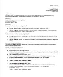 7+ Student Resume Examples | Sample Templates