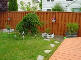 Backyard fence paint ideas | Outdoor furniture Design and Ideas