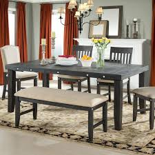 Industrial Extending Dining Table Industrial Kitchen Dining Tables Youll Love Wayfair