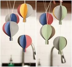 diy hot air balloons could work with the circus theme too although makes me