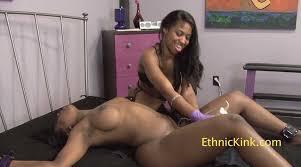 Black lesbian forced orgasm