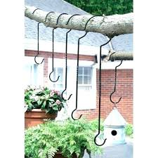 hanging plant hooks outdoor plant hanger hooks outdoor hanging potted plants set branch garden ornament in