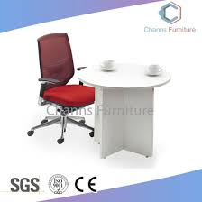 modern white 0 6m round office table meeting desk cas mt31401