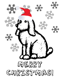 Small Picture Christmas Puppy Coloring Pages Learn To Coloring