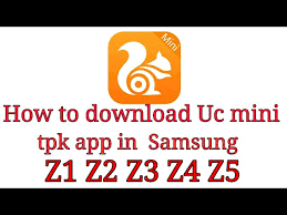 Samsung z2 is the latest creation from samsung in their tizen platform. How To Download Uc Mini Tpk App In Samsung Z1 Z2 Z3 Z4 Z5 Youtube