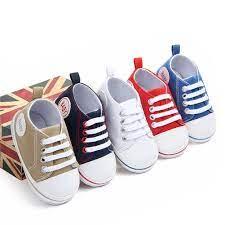 1 Đôi Giày Giày Thoáng Khí Xuân Thu Cho Bé Trai Bé Gái Sơ Sinh, Giày Tập Đi  Mềm Cho Trẻ Tập Đi Chống Trượt | Giày thể thao bé trai