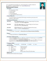 Sample Resume Of Experienced Mechanical Engineer Friends And