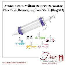Amazoncom Wilton Dessert Decorator Plus Cake Decorating Tool 503