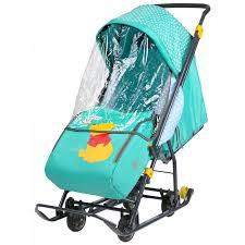 <b>Санки</b>-<b>коляска Ника Disney</b> Baby 1 - Акушерство.Ru