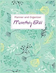 Pdf 2020 Monthly Bill Planner And Organizer Volume 6