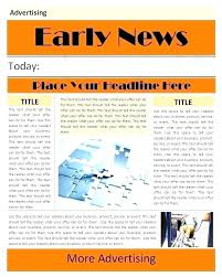 Editable Old Newspaper Template Google Docs Old Newspaper Template By Templates On Editable