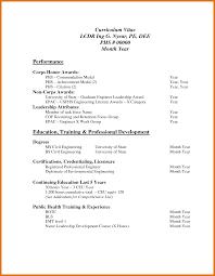 Standard Resume Format Best Standard Resume Format Pdf Letter