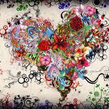 Photo Art Love Wallpapers Free Download Heart Art Love