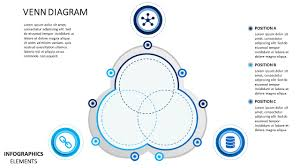 Powerpoint 2010 Venn Diagram Venn Diagram Material Design Powerpoint Diagram Slidemodel