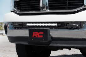 Licence Plate Led Light Bar Rough Country Dodge 20 Inch Led Light Bar Hidden Bumper Mounts 03 17 Ram 2500 3500