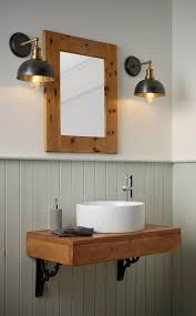 Vintage Bathroom Lights Over Mirror Place Lights Either Side Of The Bathroom Mirror For The