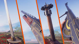 NEW PRIMARY AND MELEE WEAPONS Battlefield 1 They Shall Not.