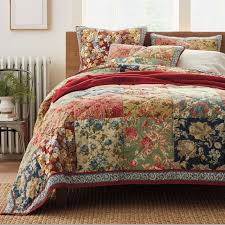 king size patchwork quilts. Wonderful King CHAUSUB Handmade Patchwork Quilt Set 3PCS 100 Cotton Quilted Bedspread  American Floral Bed Cover Quilts In King Size E