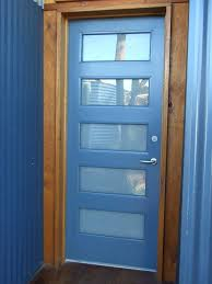glass panel exterior door completed entry door renovated with opaque glass panels installed and internal beads glass panel exterior door