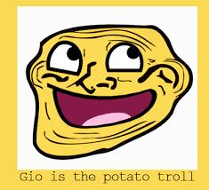 potato face troll. Delighful Potato Potato Troll Gio By Gioluckyboy  Intended Potato Face Troll