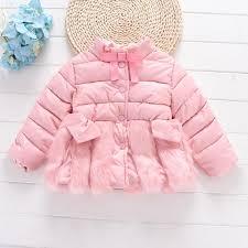 winter baby girls fox fur coat korean girls high grade fur coat wear padded jacket for