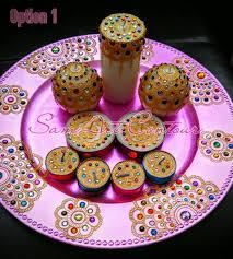 Mehndi Tray Decoration Mehndi Decor Mehndi thaal Henna plate by SamArtContour on Etsy 80