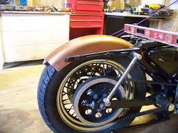 show me your chopped rear fenders and story harley davidson forums