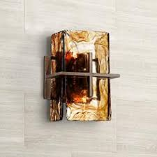 asian bathroom lighting. bronze gold art glass 8 asian bathroom lighting i