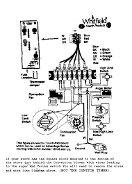 whitfield trouble shooting wire diagram for advantage series stoves