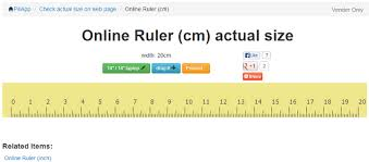 6 inch ruler actual size 7 online rulers in metric and inches