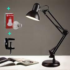 Đèn bàn pixar có đế tự đứng đèn để bàn đèn học chống cận kèm kẹp bàn loại  xịn 2 in1 ( Không kèm bóng )
